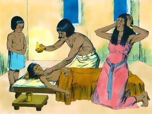 Moïse est l'envoyé de Dieu pour libérer les Israélites de l'esclavage 018-mo12