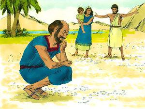 Moïse et la manne miraculeuse 018-mo14