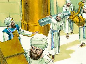 La fidèle prophétesse Houlda 019-jo10