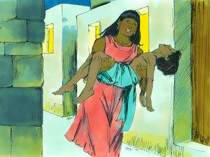 Moïse est l'envoyé de Dieu pour libérer les Israélites de l'esclavage 019-mo14