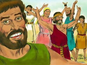 La libération des Israélites et la traversée miraculeuse de la mer rouge 020-mo20