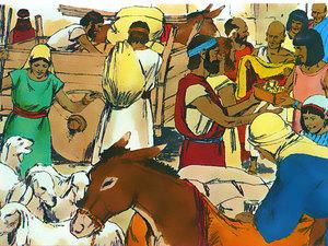 La libération des Israélites et la traversée miraculeuse de la mer rouge 021-mo17
