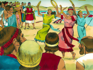 La libération des Israélites et la traversée miraculeuse de la mer rouge 021-mo18