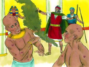 Moïse est l'envoyé de Dieu pour libérer les Israélites de l'esclavage 021-mo19