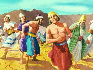 ♦ Apocalypse 9 : 10 : Le dard des sauterelles 022-mo11