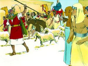 La libération des Israélites et la traversée miraculeuse de la mer rouge 022-mo13