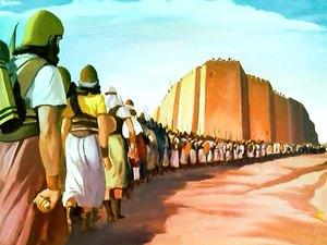 ♦ Apocalypse 8 : 2 : Sept trompettes sont données à sept anges 023-mo12