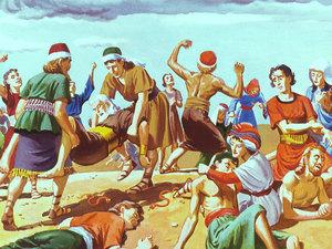 Apocalypse 9 : 19 : Les queues des chevaux à tête de lion 024-mo12