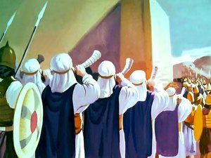 ♦ Apocalypse 8 : 2 : Sept trompettes sont données à sept anges 025-mo14