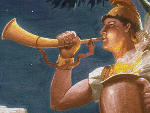 ♦ Apocalypse 4:1: les trompettes 026-mo12