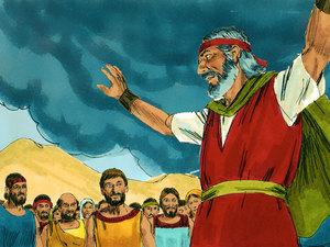 Dieu communique avec la nation d'Israël et lui transmet sa Loi 027-mo13
