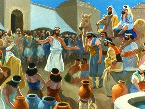 ♦ Apocalypse 11 : 3 : Deux témoins prophétisent pendant 1260 jours 030-jo10
