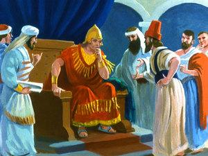 ♦ Apocalypse 11 : 3 : Deux témoins prophétisent pendant 1260 jours 031-jo10