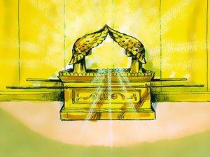 La construction par Moïse du sanctuaire dédié au culte de Jéhovah Dieu 031-mo13