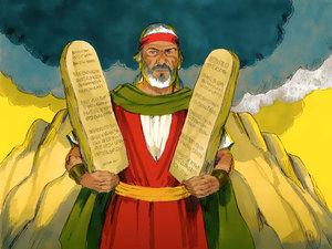 Dieu communique avec la nation d'Israël et lui transmet sa Loi 032-mo13