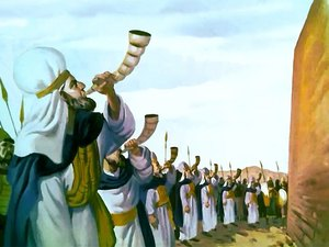 ♦ Apocalypse 4:1: les trompettes 037-mo11