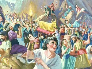 L'idolâtrie des Israélites et le veau d'or 040-mo10