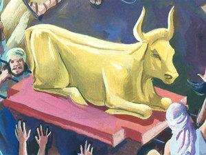 L'idolâtrie des Israélites et le veau d'or 041-mo13