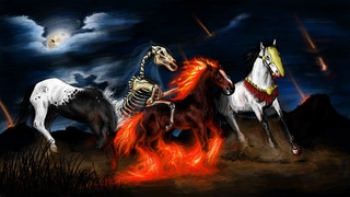 ♦ Apocalypse 6 : 4 : Le cheval rouge feu Apocal10