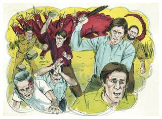 ♦ Apocalypse 11 : 7 : La bête qui monte de l'abîme les tuera Book_o14