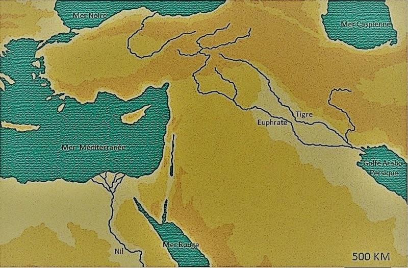 Apocalypse 8 : 10 : Les fleuves et les sources d'eau Carte-11