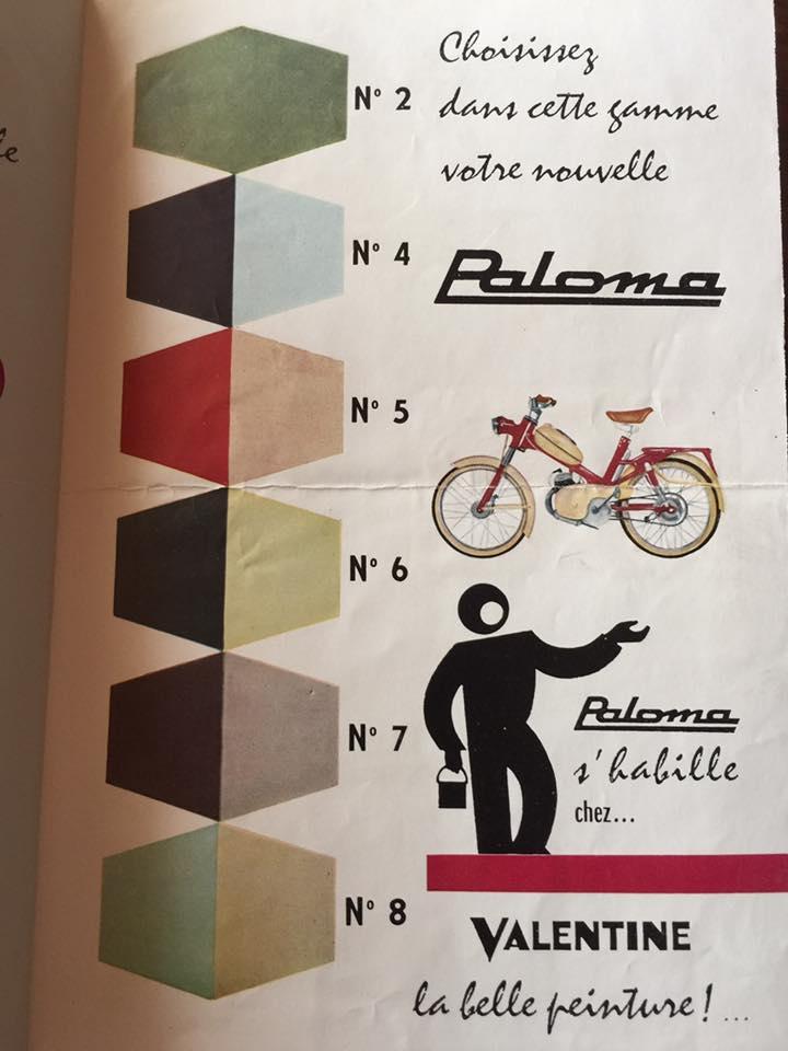 Remise en piste Paloma P500 13428412