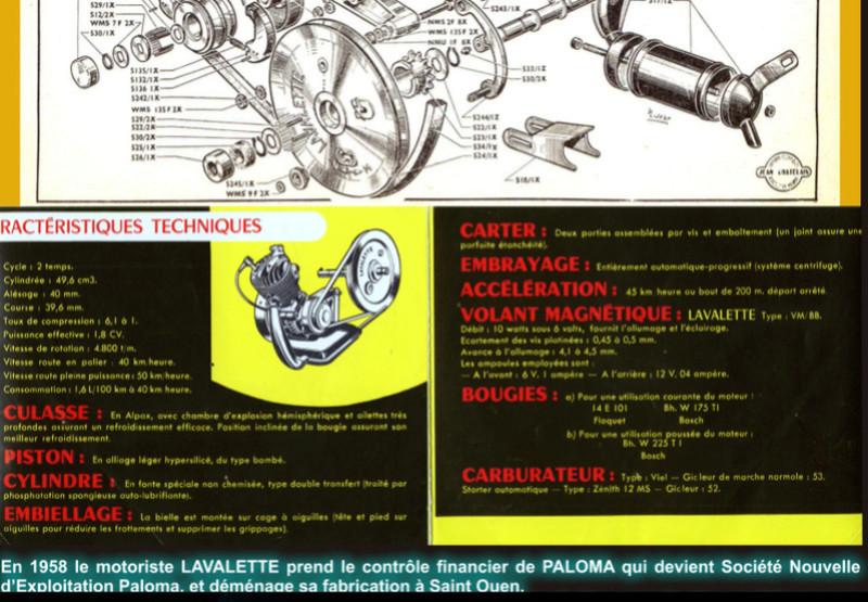 Remise en piste Paloma P500 Caract11