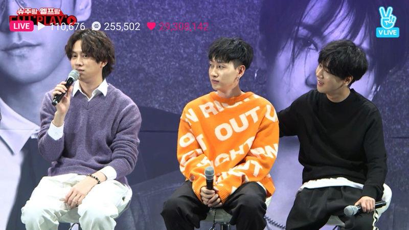 Super Junior Canlı Yayın Kesitleri Screen14