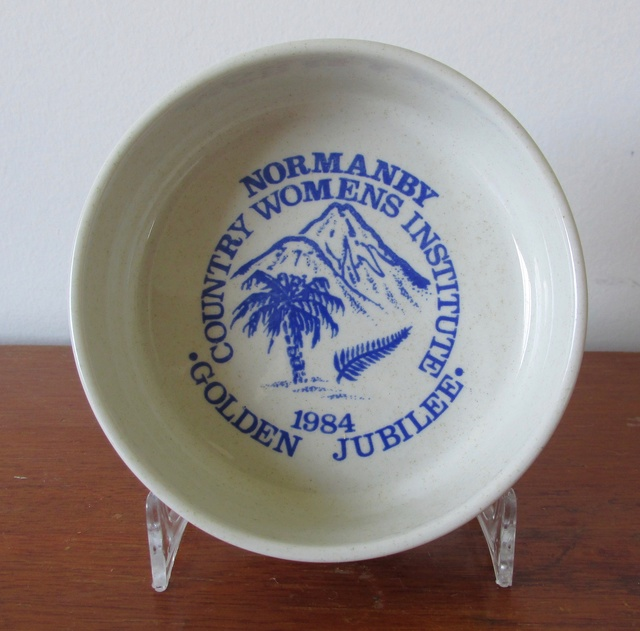 Monogramed ashtray interesting backstamp Img_3710