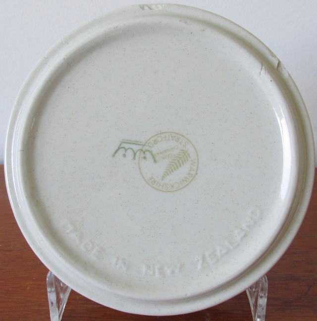 Monogramed ashtray interesting backstamp Img_3711