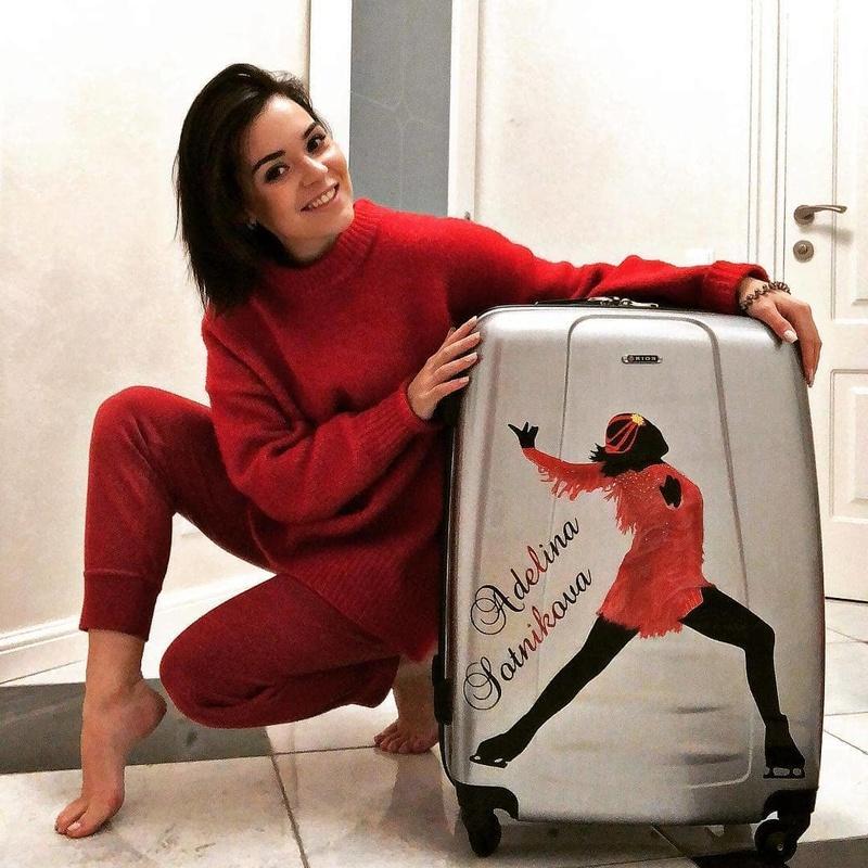 Розовый мяч Новогорска & Индивидуальный чемодан фигуриста - Страница 3 15244311