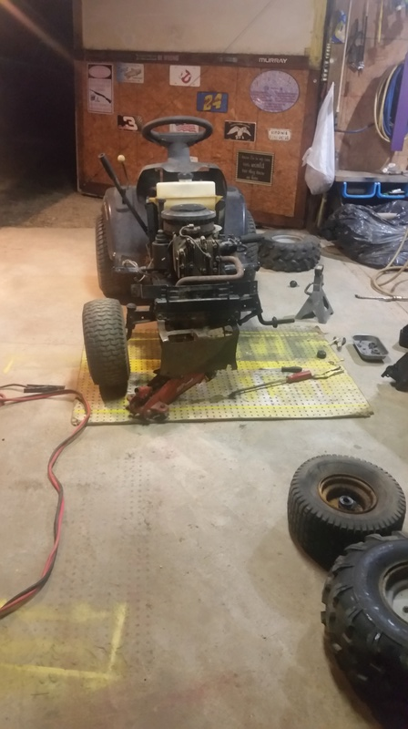 $20 Poulan Pro Project Mower 20171012