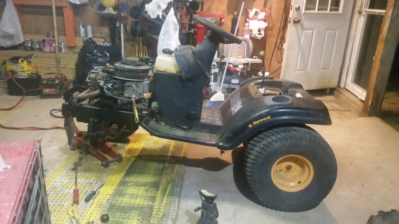 $20 Poulan Pro Project Mower 20171013