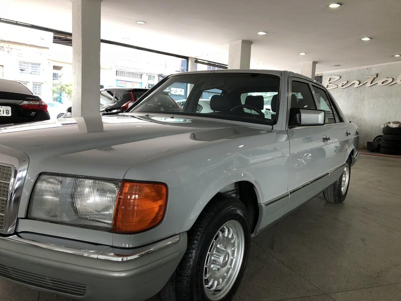 Vendo Mercedes w126 1985 Placa Preta $34.900,00 - VENDIDO Img_0830