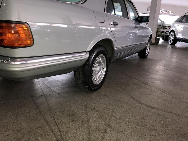 Vendo Mercedes w126 1985 Placa Preta $34.900,00 - VENDIDO Img_0839