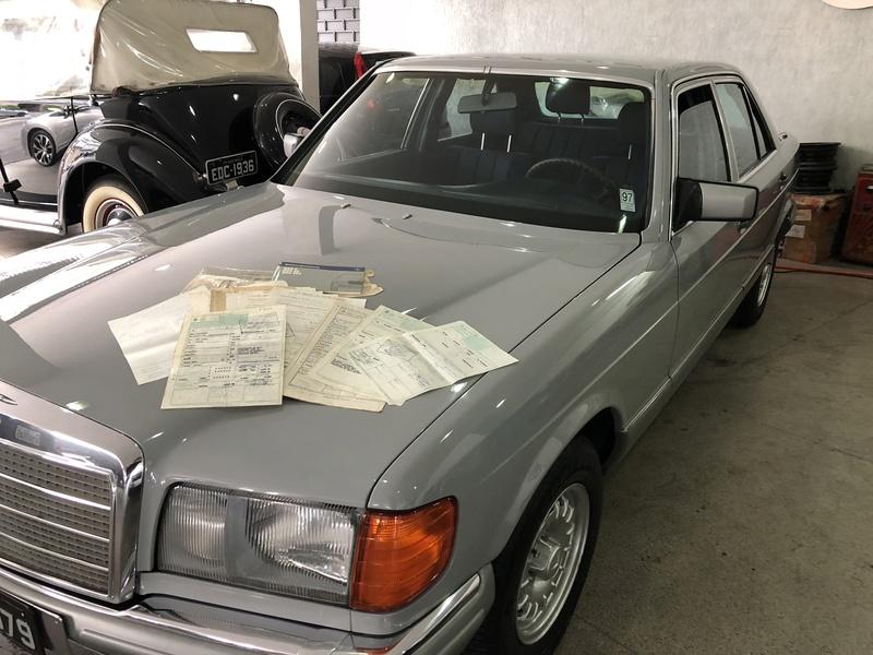 Vendo Mercedes w126 1985 Placa Preta $34.900,00 - VENDIDO Img_0853