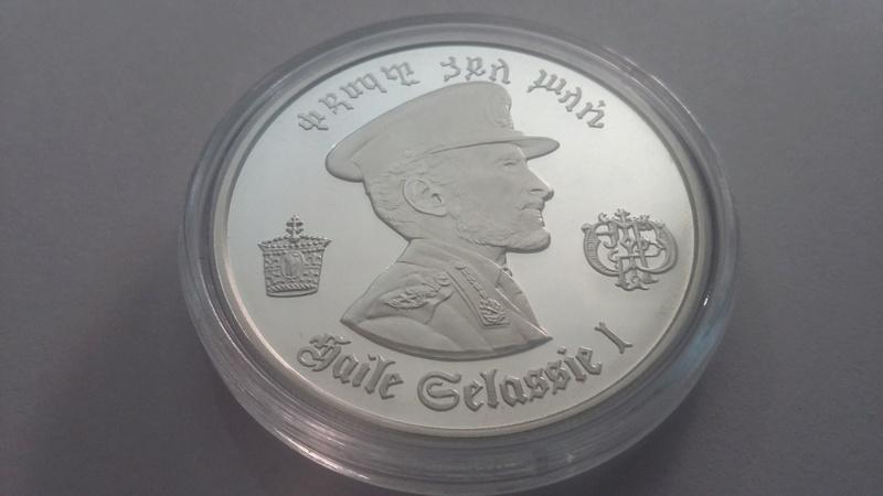 5 dolares Haile Selassie 1972, Etiopia 20171110