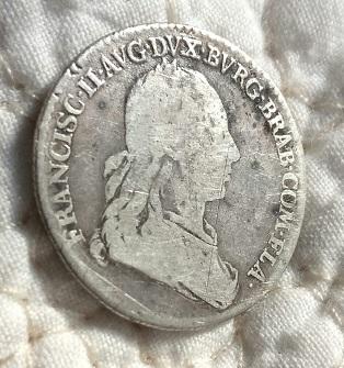 Médaille pour l'installation de l'Empereur François II en Flandres, 1792 ... 1016