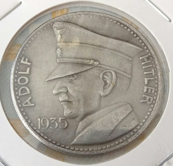 Fantasia alemana , 5 RM del 1935 1050