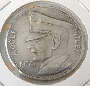 Fantaisie allemande, 5 RM de 1935 1051