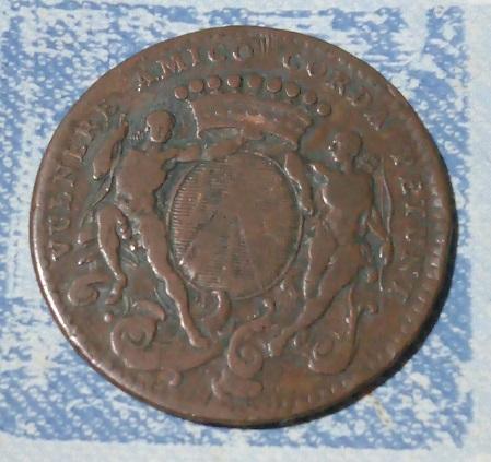 Jeton de Bourgogne, mairie de Dijon, J.-P. Burteur 1739 ... 10a50