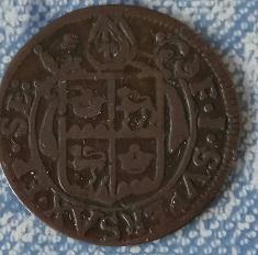 Demi-Batz 1708, Evêché de Sion (Suisse) François-Joseph Supersaxo ... 114