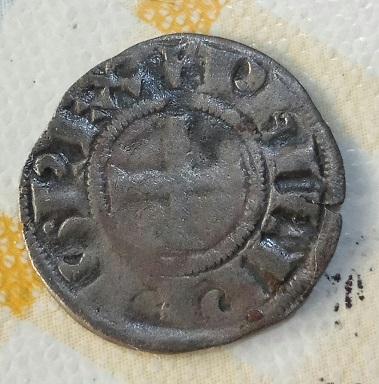 Denier tournois à l'O rond pour Philippe IV ... 1217