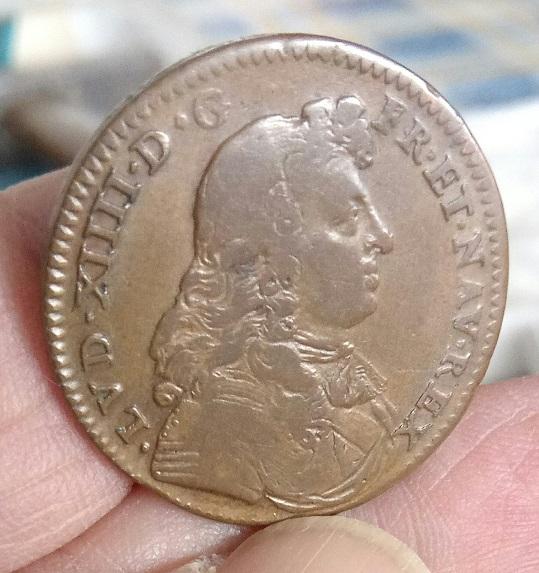 """Jeton Louis XIV 1673 """"SOLIS OPVS"""" ... 12a20"""