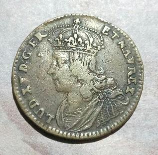 "Jeton Nuremberg, Louis XV ""VIS ANIMI CVM CORPORE CRESCIT"" ... 139"