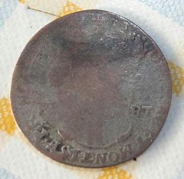 5 Soldi de Carlo Emmanuele III de Saboya, Reino de Cerdeña, 1733 13a19