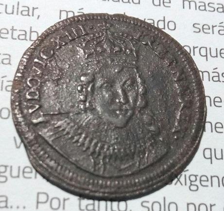 LUDOVICUS XIII , Nuremberg ,retrato de frente . 14a20