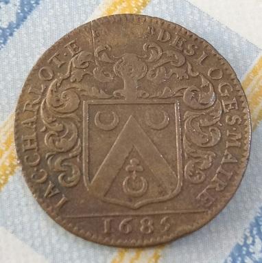 1685, Blason et Palais. 150