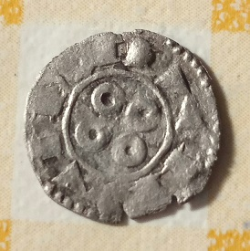 Óbolo Melgorés de Montpellier, s. XII - XIV. 1521