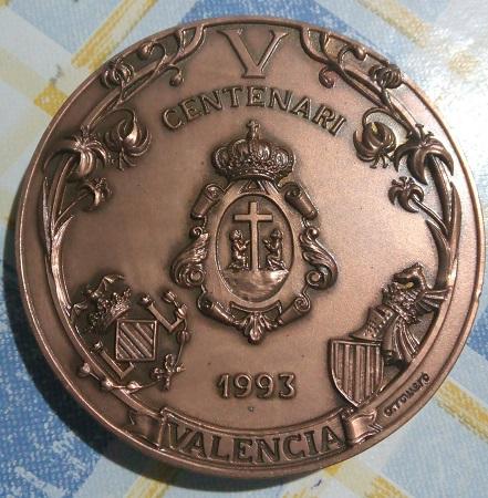 V centenaire, patrona de la ville de Valence. 18a13